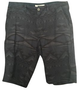 H&M Dress Shorts Blue print