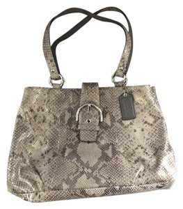 Coach Tote in Animal Print