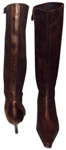 Donald J. Pliner copper Boots