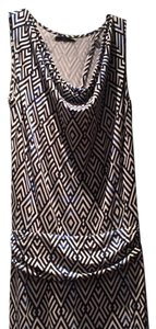 Blue and Black Pattern Maxi Dress by Tart