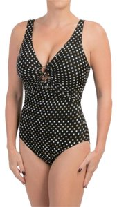 Miraclesuit Magicsuit by Miraclesuit Spot On Ring Polka Dot One Piece Swimsuit