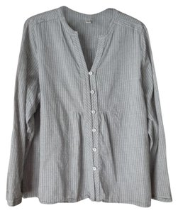 Coldwater Creek Petite Cotton Striped Tunic