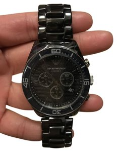 Emporio Armani Emporio Armani Black Ceramic Watch