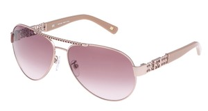 c5e226e606b5a Escada Escada SES862 Sunglasses 862 (0L41) Shiny Light Pink Authentic New