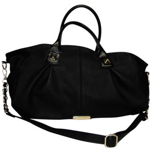 Steve Madden Xl Duffle Weekender Black Travel Bag