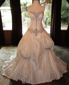 Justin Alexander Winter Sale Wedding Dress