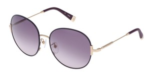 Escada Escada SES859 Sunglasses 859 (OE66) Shiny Rose Gold Authentic New