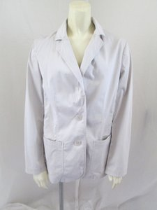 J. Jill Cotton Casual Gray Jacket