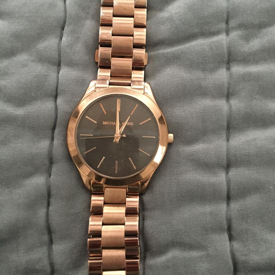 f7550849717b Michael Kors Rose Gold Mk3197 Watch - Tradesy
