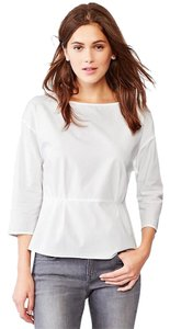 Gap Peplum Top White