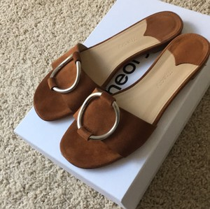 Theory Brown Sandals