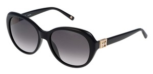 Escada Escada SES344 Sunglasses 344-S (700Y) Black Authentic New