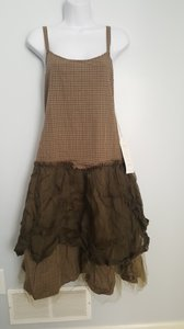 Other short dress Green/Brown Plaid on Tradesy