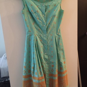 Teal Maxi Dress by Miu Miu