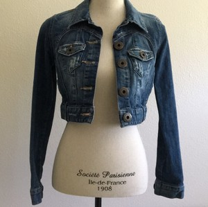Guess Jean Womens Jean Jacket