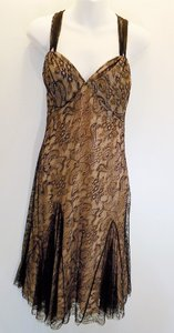 John Galliano Galliano Lace Gown Dress