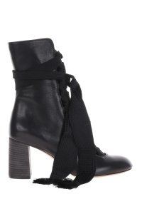 Chloé Chloe Leather Black Boots