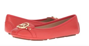 Michael Kors sienna orange red Flats