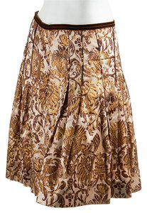 Schumacher Skirt Brown/Gold