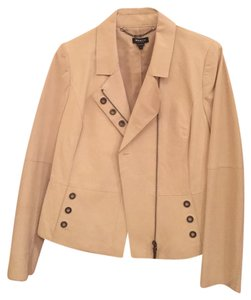Worth Cream Leather Jacket