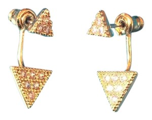 Stella Valle Pave Triangle Ear Jacket