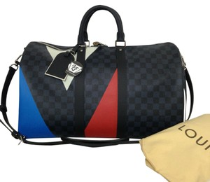 Louis Vuitton Lv Americas Cup Lv Keepall Lv Bandouliere 2017 Travel Bag