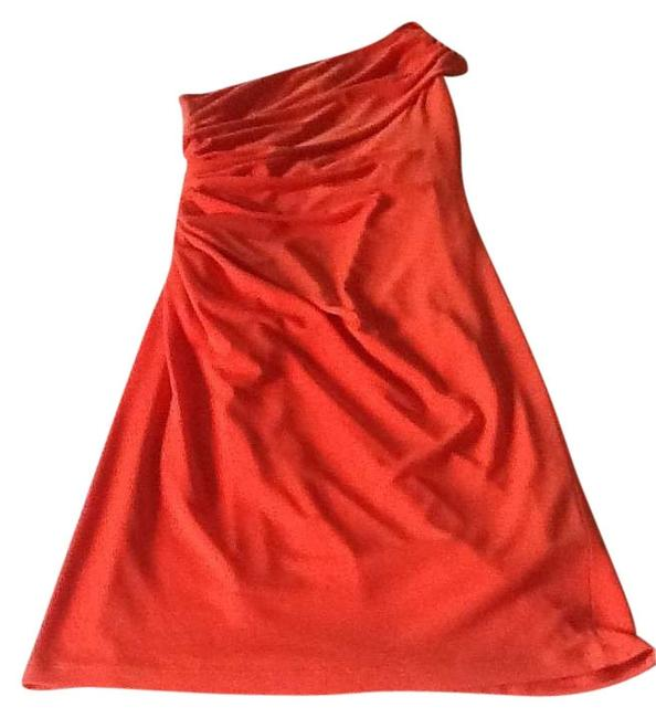 Preload https://item3.tradesy.com/images/david-meister-orange-knee-length-cocktail-dress-size-2-xs-197107-0-0.jpg?width=400&height=650