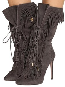 Aquazzura Brownish Grey Boots