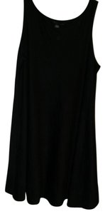 Apostrophe short dress Black Sleeveless on Tradesy