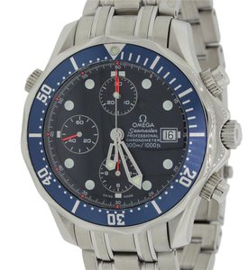 Omega Omega Seamaster Steel Diver Chronograph Diver 41.5mm Watch 2225.80