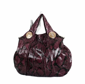 Gucci Python Hysteria Limited Tote in Purple