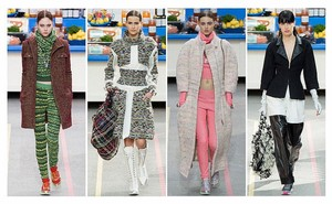 Chanel Supermarket Runway Runway Collection Tweed Black Blazer