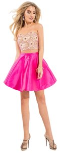 Rachel Allan Strapless Two Piece Party Homecoming Dress