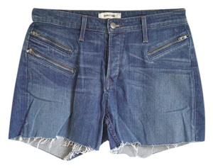 Helmut Lang Cutoff Trouser Pockets Cut Off Shorts Denim