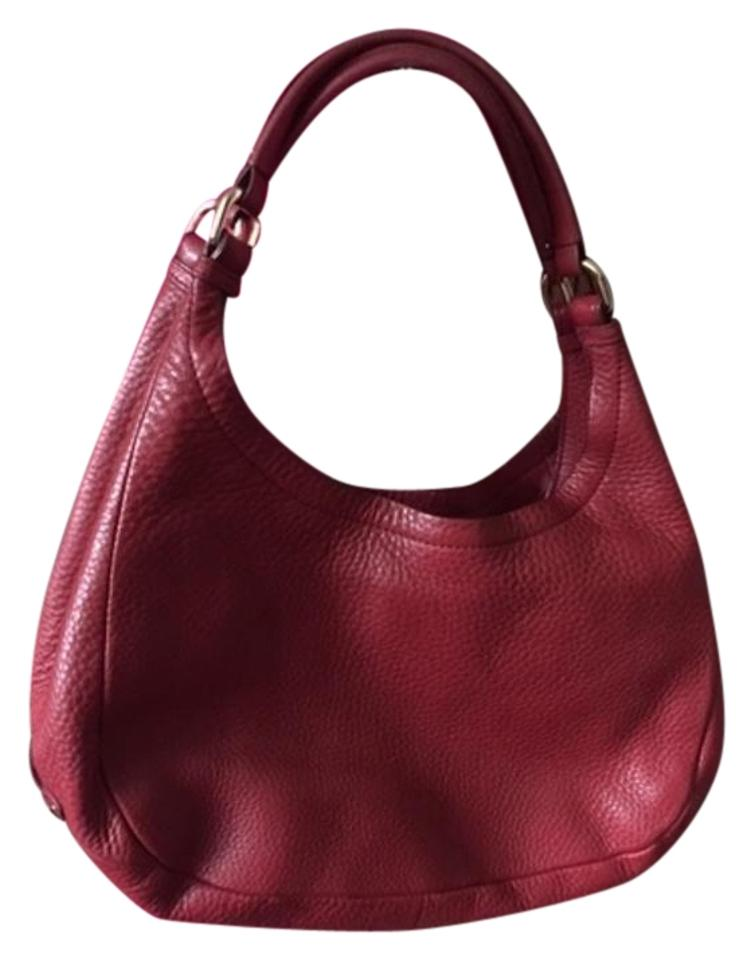 4967341a63 Cole Haan Slouch Red Leather Hobo Bag - Tradesy