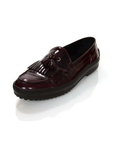 Tod's Loafers Leather Brown Flats