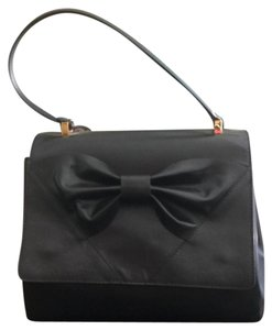 RED Valentino Leather Satchel in Black