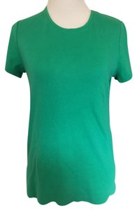 Croft & Barrow Crew Neck Sleeve T Shirt Green