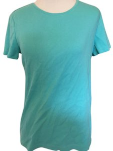 Croft & Barrow Crew Neck Sleeve T Shirt Light blue