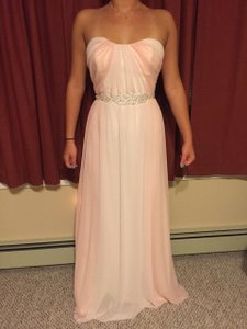 Jim Hjelm Light Pink/ Ivory Style#5357 Dress
