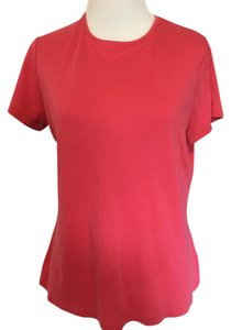 Sonoma Crew Neck Sleeve T Shirt Pink