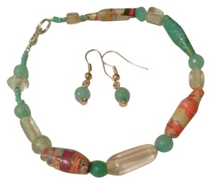 Other Unique & Impressive Boho Beaded Bracelet and Matching Earrings Set
