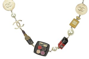 Chanel 04A Enamel Makeup Charms Necklace