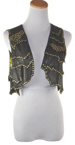 Etro Studded Leather Lined Vest