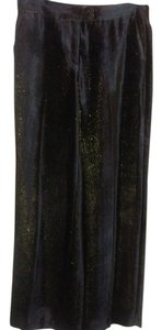 Etro Wide Leg Pants Black with sparkle