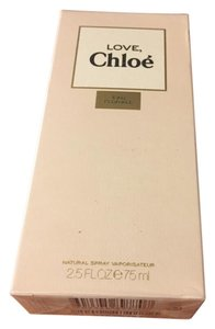 Chloé LOVE by CHLOE Eau Florale~ Eau de Toilette EDT Spray 2.5 oz 75 ml