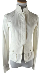 Chanel Cc Denim Size 36 Ivory Womens Jean Jacket