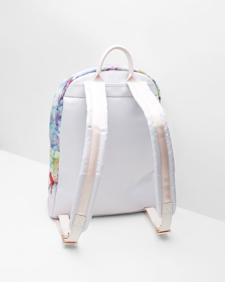 8b727a7486394e Ted Baker Rose Gold Multi Nylon New With Tags Backpack Image 5. 123456