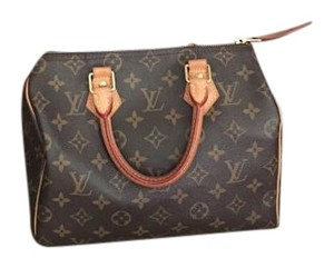Louis Vuitton Monogram Speedy Satchel