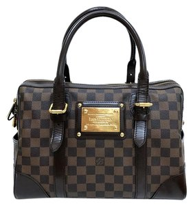 Louis Vuitton Lv Damier Ebene Berkeley Tote in brown